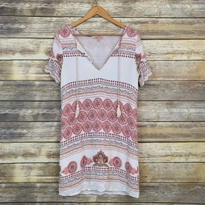 Gibson Latimer Printed Boho Dress